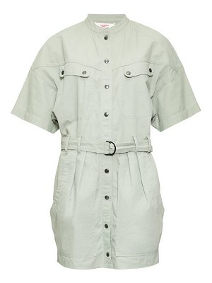 Etoile Isabel Marant zolina belted cotton shirtdress