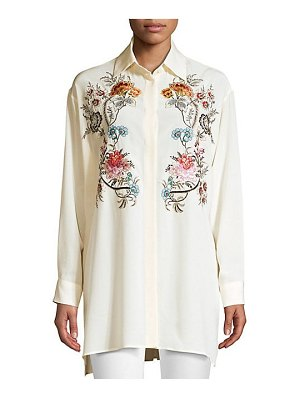 Etro embroidered floral tunic