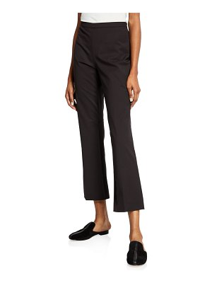 Etro Flat-Front Cropped Pants