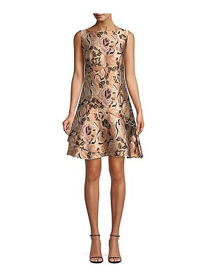 Etro floral jacquard cocktail dress