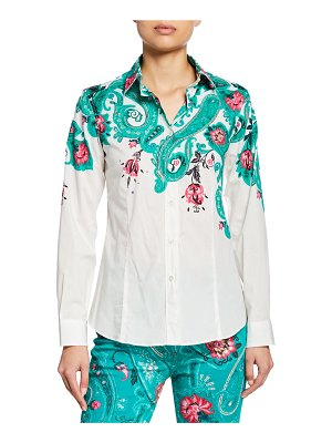 Etro Floral-Placed Shirt