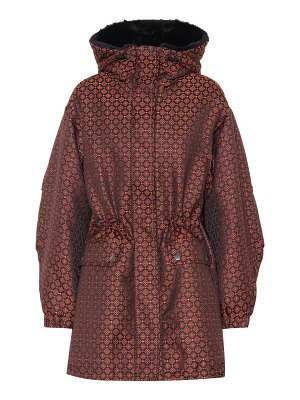 Etro padded jacquard coat
