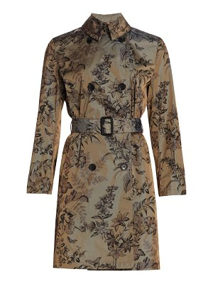 Etro paisley belted trench coat