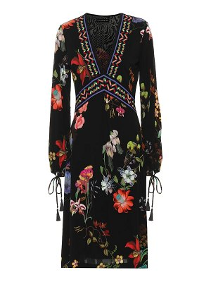 Etro Printed crêpe midi dress