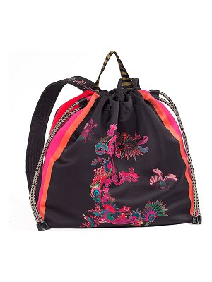 318ace5dd2a8 Consigned Sneaker Fabric Backpack in Pink