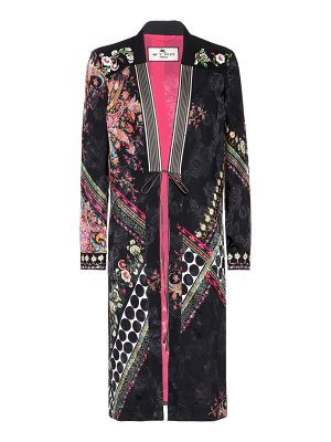 Etro Printed jacquard silk-blend jacket