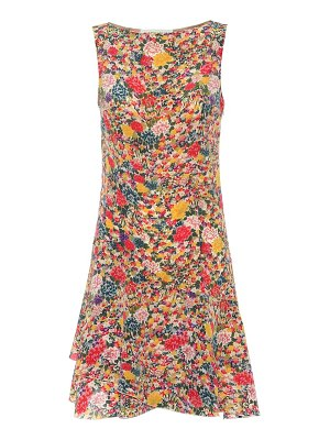 Etro Printed silk minidress