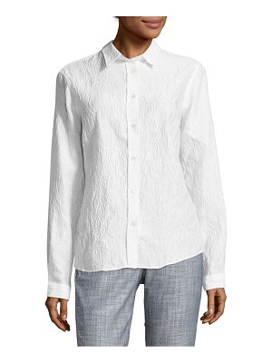 Etro Textured Lace Button-Down Shirt