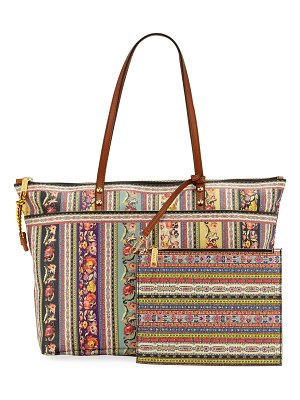 Etro Twister Shopper PVC Tote Bag