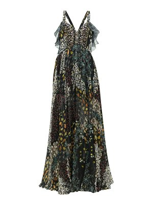 Etro uschi floral-print silk maxi dress