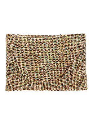 Ettika rainbow crystal belt bag