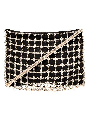 Ettika rhinestone chain crossbody bag