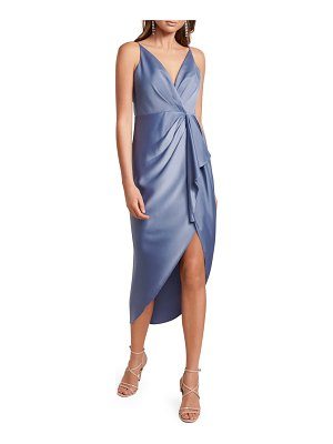 EVER NEW Adelina High-Low Waterfall Dress