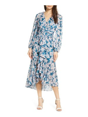 EVER NEW floral long sleeve dress