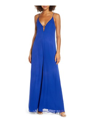 EVER NEW sleeveless wide leg jumpsuit