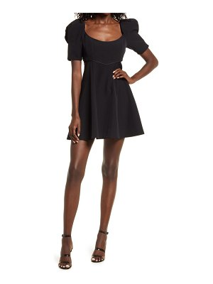 EVER NEW whitney fit & flare minidress