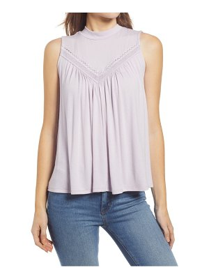 Everleigh lace knit tank