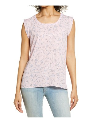Everleigh pleat back high/low top