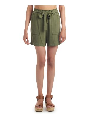Everly Grey shelly high waist paperbag shorts