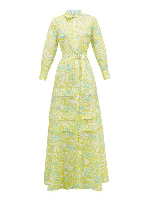 Evi Grintela daisy floral-print cotton-poplin maxi-dress