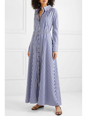 Evi Grintela victoria striped cotton maxi dress
