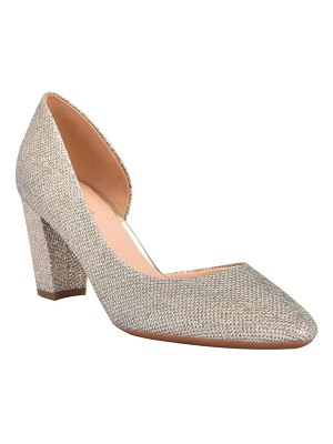 EVOLVE juliet half d'orsay pump