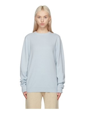 Extreme Cashmere blue cashmere nâ°128 be sweater