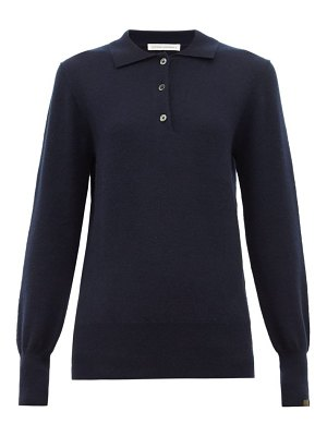Extreme Cashmere n°121 rugby stretch cashmere polo shirt