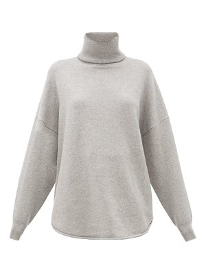 Extreme Cashmere no. 52 roll stretch-cashmere sweater