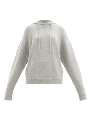 Extreme Cashmere no. 90 be cool stretch-cashmere hooded sweatshirt