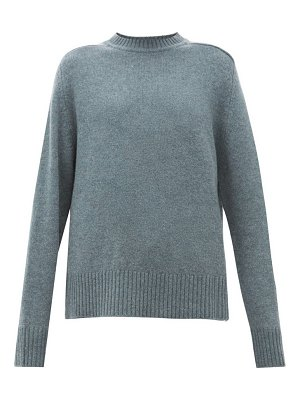 Extreme Cashmere no.123 bourgeois stretch-cashmere sweater