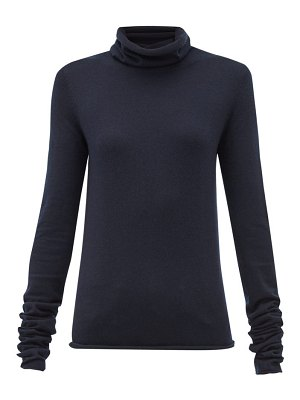 Extreme Cashmere no.129 roll-neck stretch-cashmere sweater