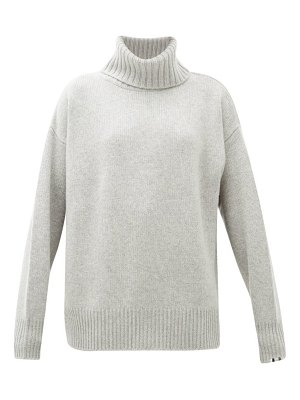 Extreme Cashmere no.20 oversized stretch-cashmere roll-neck sweater