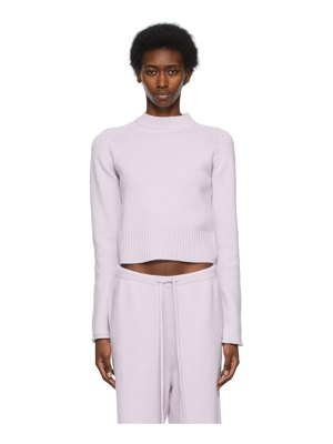 Extreme Cashmere purple n°152 cherie sweater