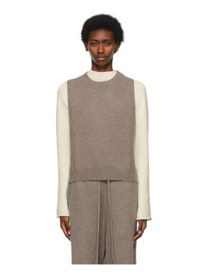 Extreme Cashmere taupe n°156 be now sweater