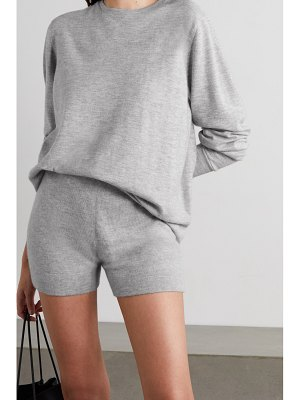 Extreme Cashmere very cashmere-blend shorts