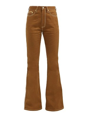 Eytys oregon high rise flared jeans