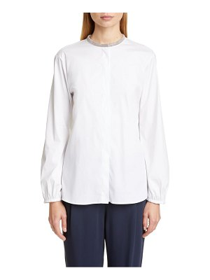 Fabiana Filippi chain trim shirt
