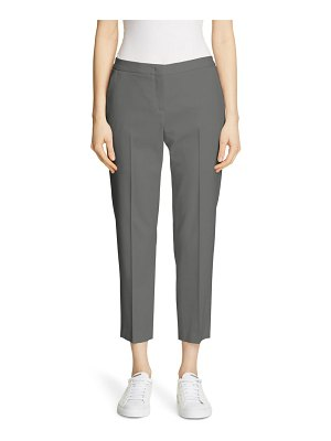 Fabiana Filippi slim tropical wool crop pants