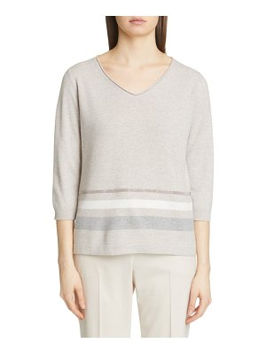 Fabiana Filippi stripe wool blend sweater