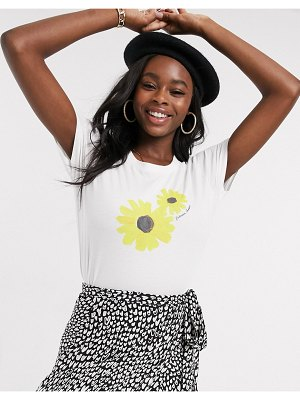 Fabienne Chapot exclusive joanne sunflower t-shirt in off white