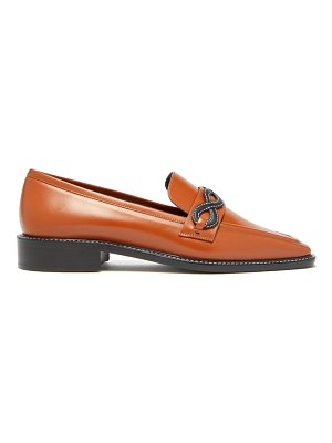 FABRIZIO VITI forever smooth-leather loafers