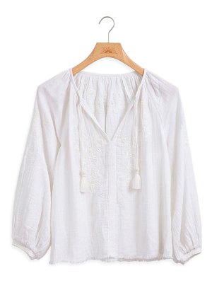 Faherty blossom blouse