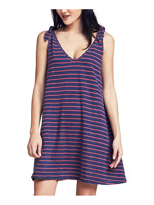 Faherty florence tie shoulder dress