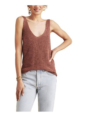 Faherty out east sweater tank
