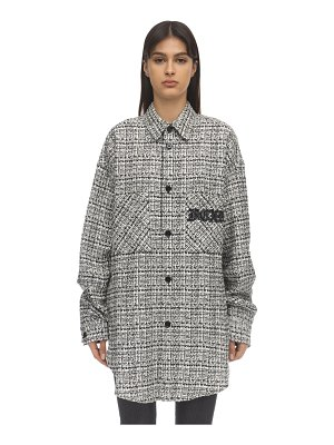 Faith Connexion Oversize tweed jacket