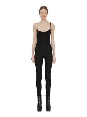Faith Connexion Stretch jersey jumpsuit