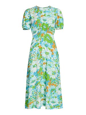 FAITHFULL THE BRAND beline floral midi dress