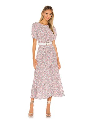 FAITHFULL THE BRAND beline midi dress