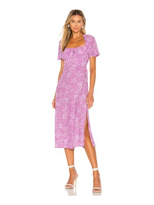FAITHFULL THE BRAND bette midi dress
